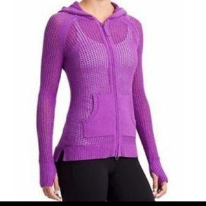 Athleta Sunscape Hooded Sweater Medium